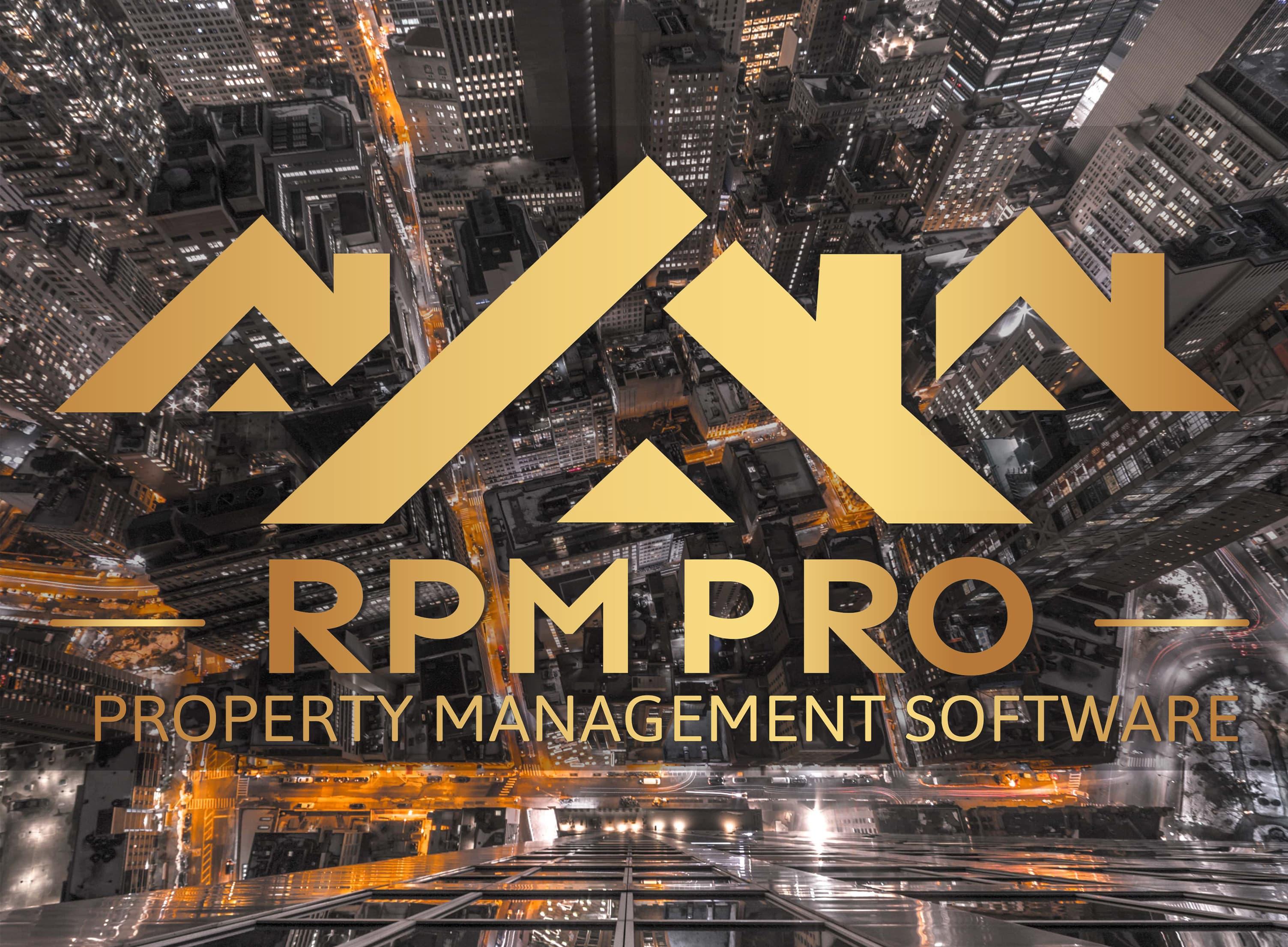RPM Large Logo Grey Background