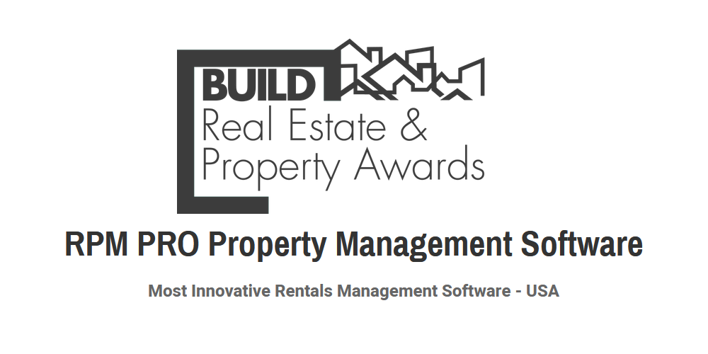 WINNERS: BUILD Magazine Most Innovative Rentals Management Software 2019 Image